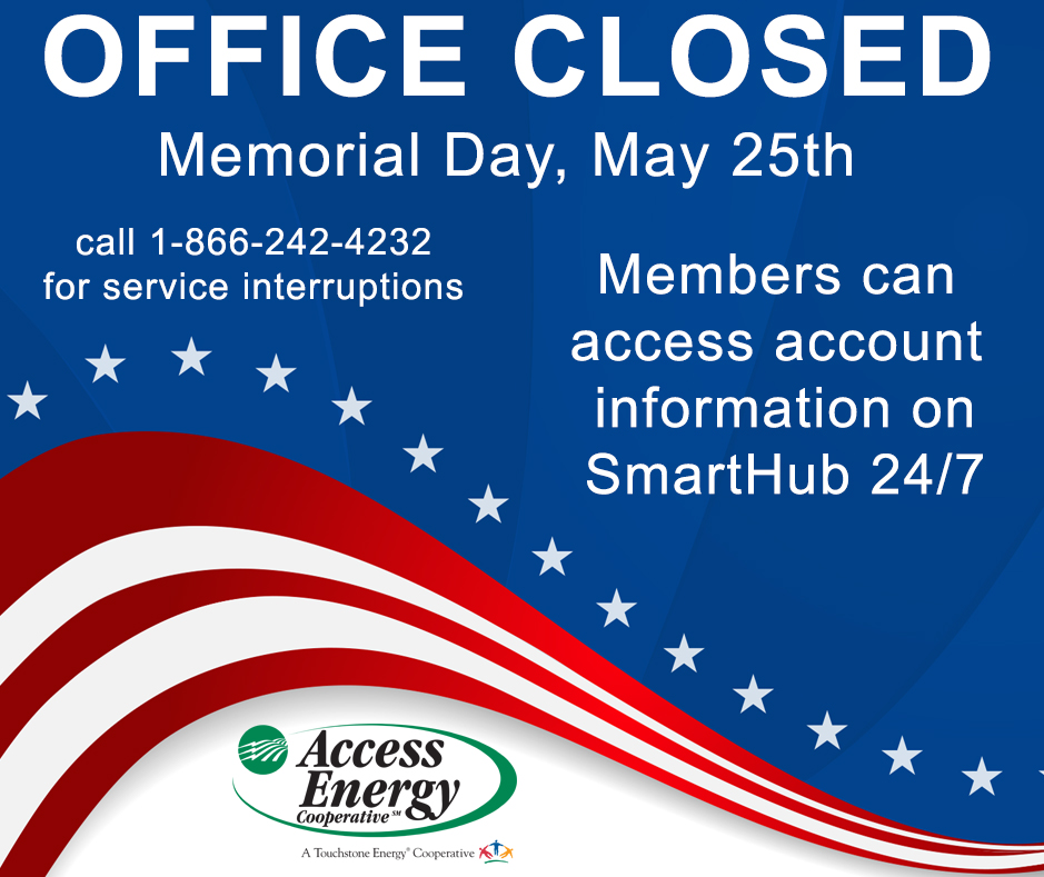 Memorial Day Office Closed